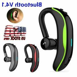 Wireless Bluetooth Earpiece Headset Hands-free On-ear Earpho