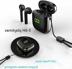 wireless bluetooth headsets earbuds compatible with apple