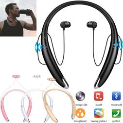 Wireless Bluetooth Headsets Stereo Earbuds with Mic Speaker