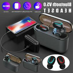 Wireless Earbuds Bluetooth 5.0 TWS Waterproof Earphones for