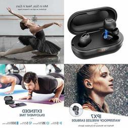 Wireless Earbuds Bluetooth Featured Aptx Sound W/Bass IPX7 S