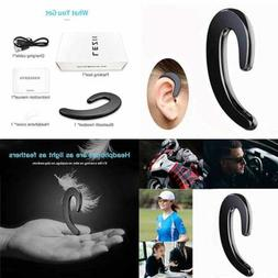 Wireless Earbuds  Single Bluetooth Invisible Headphones Head