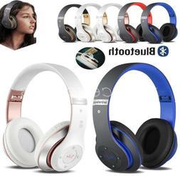 Wireless Bluetooth Kids Over-Ear Headphones Earphones for iP