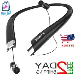 ZEAKOC Bluetooth Headphones Wireless Retractable Headset Nec