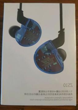 KZ ZS10 4BA Earbuds Headsets +1DD Dynamic Hybrid Headphones