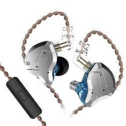 KZ ZS10 Pro In-Ear Stereo HiFi Earbuds Earphone 10 Unit Movi