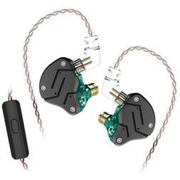KZ ZSN 3.5mm Wired In-Ear Headsets Intelligent Noise Cancell