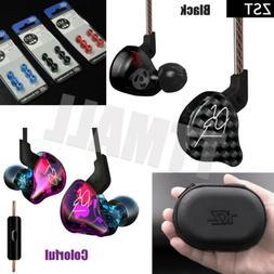 KZ-ZST Dynamic Hybrid Dual Driver Earphone Set HIFI Bass Hea