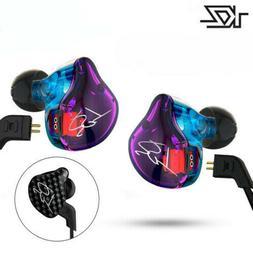 KZ ZST Pro Armature Dual Driver Earphone Sports Detachable C