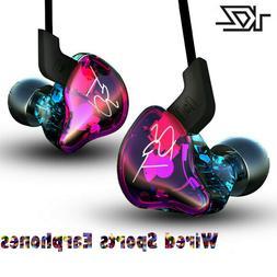 KZ ZST Pro Wired Armature Dual Driver Earphone Detachable Ca